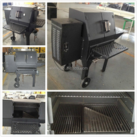 England Non-stick super large inches barbecue smoker grills.
