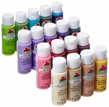 59ml 2-Ounce Assorted Colors Acrylic Paint Set