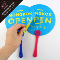 2016 Hot selling hand held fan / personalized hand held fans / advertising fan