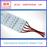 Shenzhen factory hot sale new products 2016 highlight SMD 5630/5050 72 leds/meter 12mm width rigid LED strip
