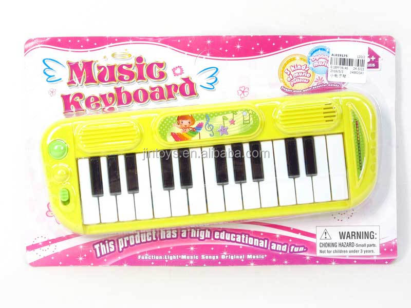 Kids musical toys 15keys organ keyboard toy plastic mini electric piano