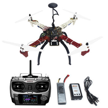 HJ 450 450F 4-Aix RFT Full Kit with APM 2.8 Flight Controller No Gimbal F02192-V