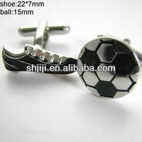 Hot Sell Football Shoes & Soccer Set Cufflinks