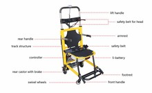 EMS-B108 200kg loading weight electric lift handicapped climbing stair chair
