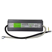 Waterproof constant voltage led driver 60W 12V 5A IP67 led power supply