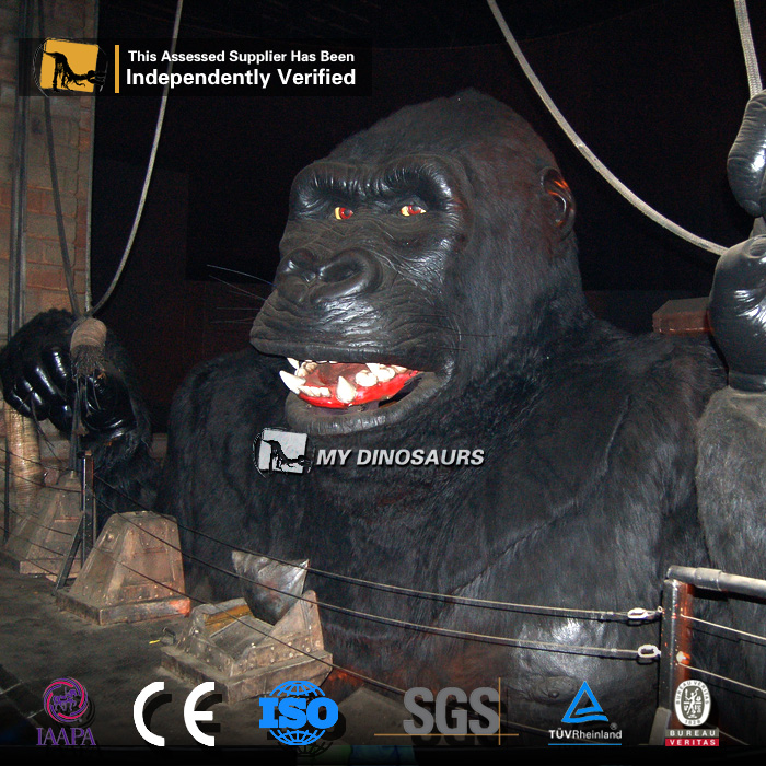 MY Dino-A23-27 Amazing Lifelike Moving Animatronic Handmade King Kong