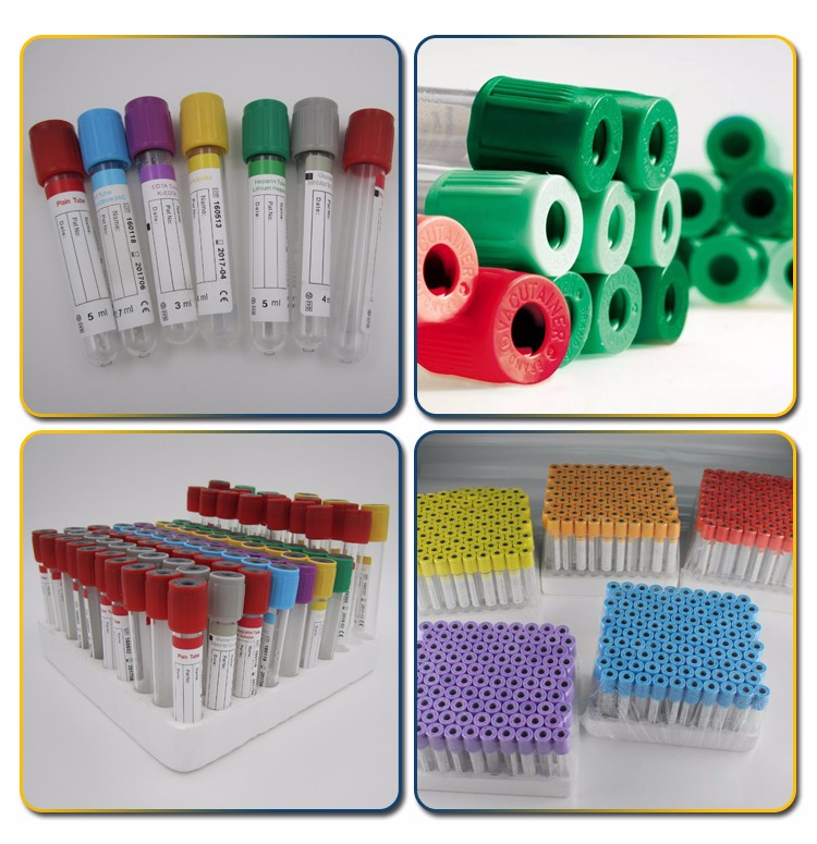 Medical Consumables vacuum blood test tube