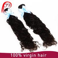 Alibaba wholesale natural black hair products,no shedding remy Indian natural wave hair bundles