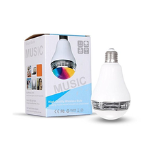 E26 Bluetooth Bulb Music light Smartphone Controlled Sunrise Wake Up LED Light Bulb Dimmable Color Changing RGB LED Light