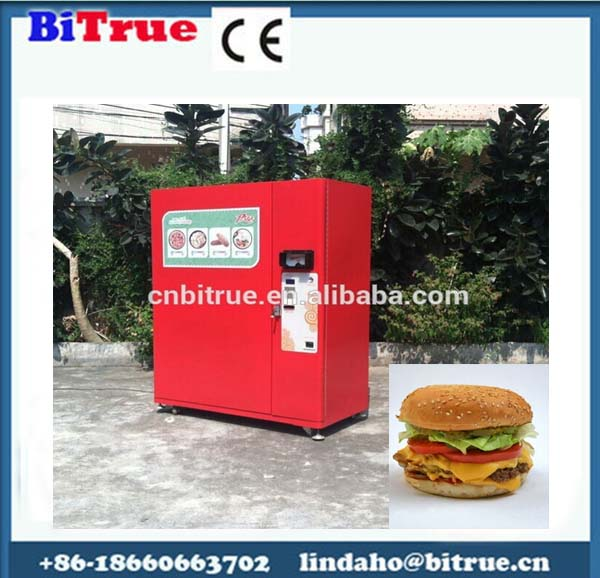 hamburger vending machine