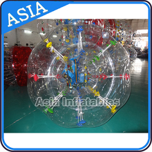 Good Price Inflatable Bumper Bal, Bumber For Sale, half color tpu bubble soccer bubble ball