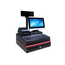 WD-9000E restaurant cash register and Window tablet payment cashier register/ retail pos system without pos software