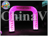 Customized inflatable LED archway,inflatable arch for large events