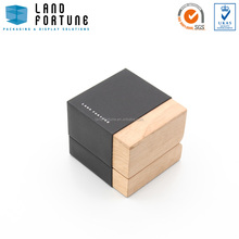 Two tone wooden box wholesale jewelry box packaging luxury box packaging