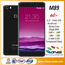"OEM M89 4G LTE High Class 5.5"" screen mobile phones"