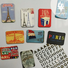 Promotional Advertise Plastic Acrylic Resin Fridge Magnets