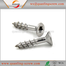 Stainless Steel Countersunk Head Torx Drive Chipboard Screw