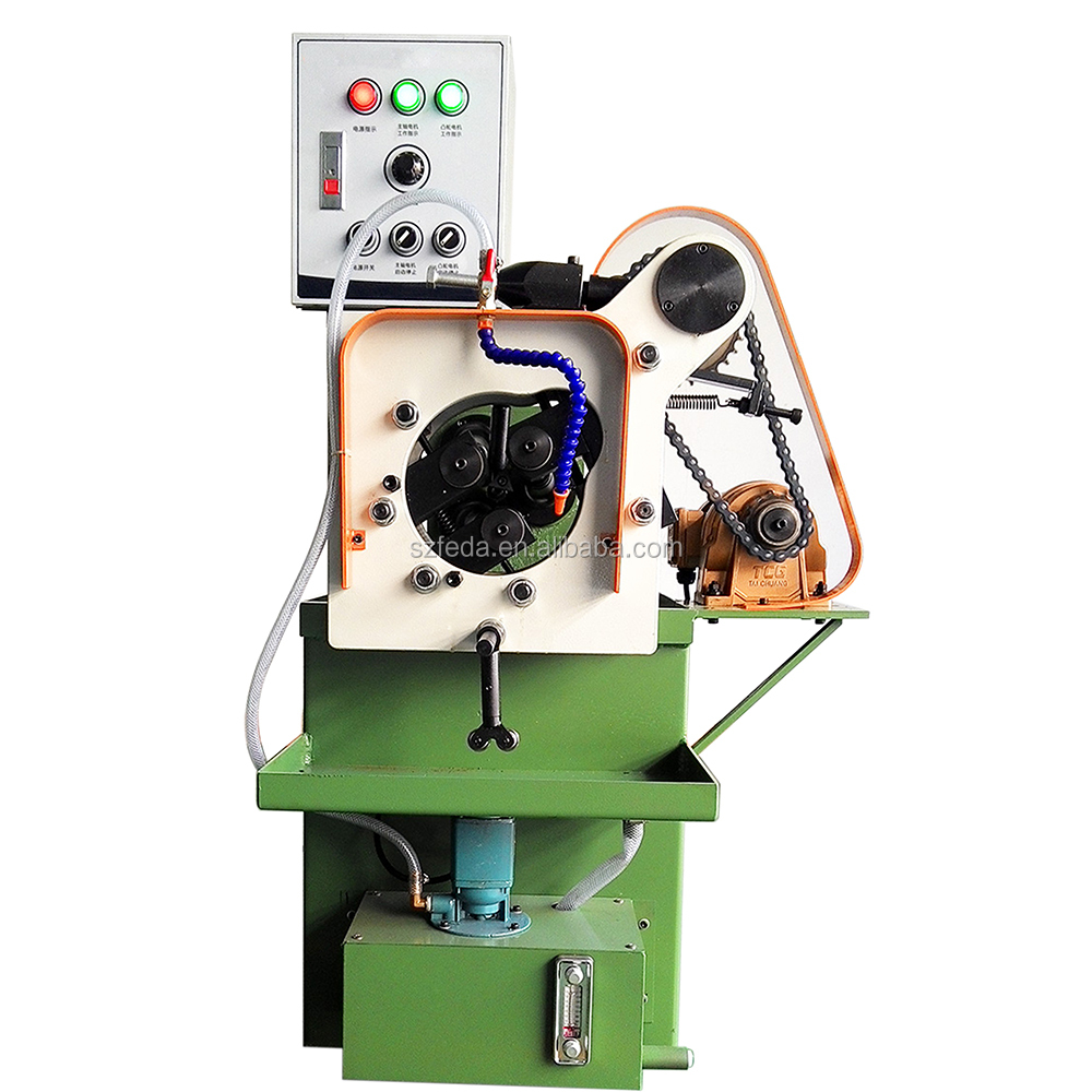 Pipe thread forming machine portable pipe threading machine tube knurling machine