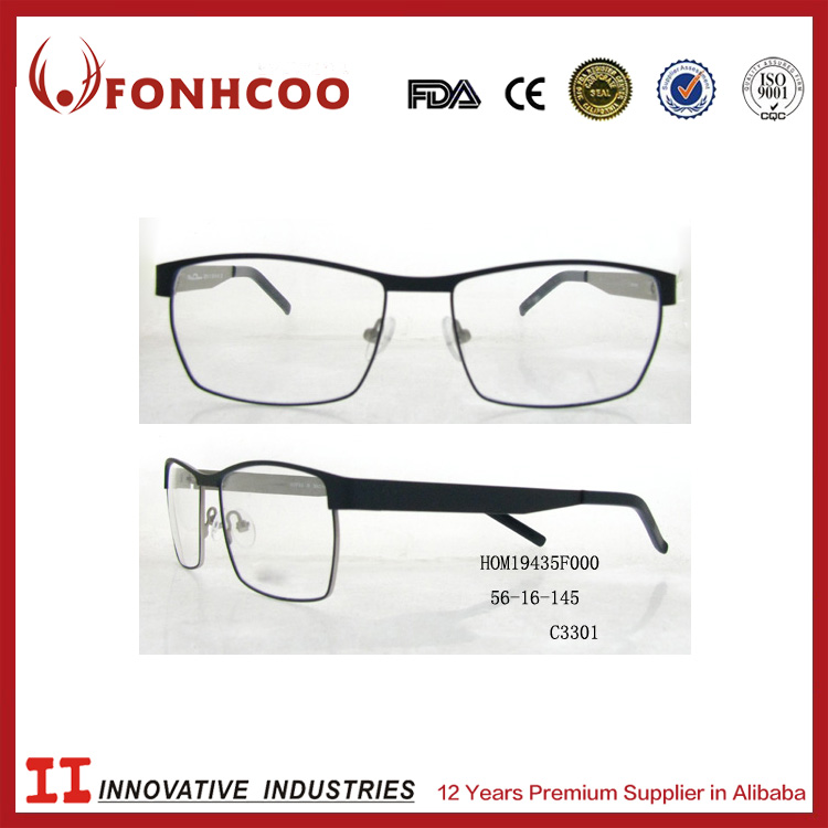 FONHCOO Wholesale Ready Stock Meet CE ISO9001 Men Matel Optical Eyeglass Frame