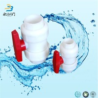 Dn25 3 Way Pvc Plastic Mini Ball Float Valve