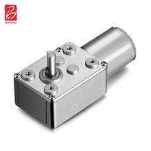 12v 24v reduction sliding gate electric reducer box dc worm gear motor