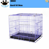 Hot Sale plastic pet airline cage dog transport show chrome cage