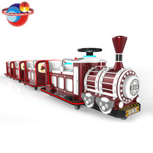 Battery Operation Outdoor Amusement Trackless Under Ground Electric Train