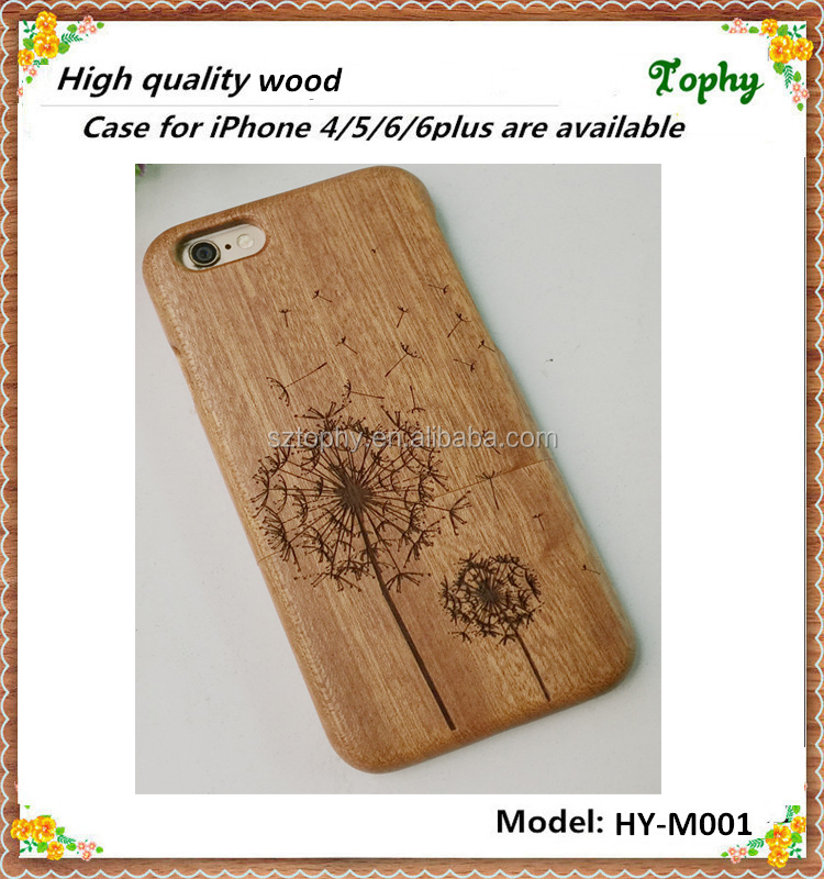 Wood carving machine made custom for wood iphone 6 plus case cover