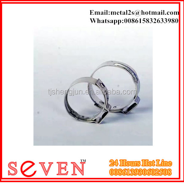 micro stainless steel hose clamp
