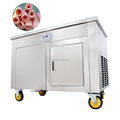 Commercial Fried Ice Cream Machine Roll Ice Cream Single Pan Yogurt Making