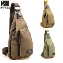 High Quality China Vintage Canvas Mens Chest Bag