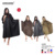 100% Polyester Hairdressing cape beauty salon spa waterproof disposable plastic cape