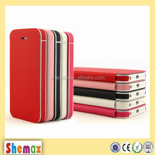 Trending stylish fancy flip leather case cover for iPhone 5s