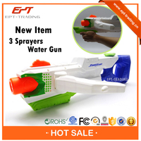 High pressure big size plastic water gun toy for child