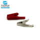 100A full insulated alligator battery test lead clip for wholesale