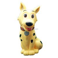 CE ROSH EN71 dog plastic coin bank rabbit money bank piggy coin bank