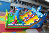 2016 Hot Sale Inflatable Sea World Playground Fun City,Inflatable Dolphin Bouncers,Inflatable Shake Jumping Obstacle Course Game