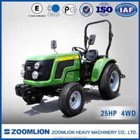 CE certificate&competitive quality RD254 25HP 4WD cheap 4x4 tractor