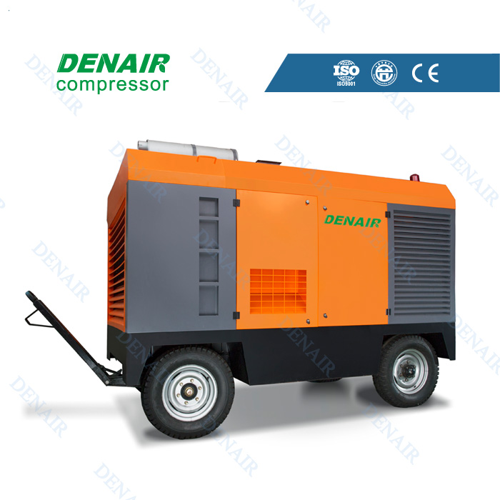 competitive price portable diesel air compressor machine
