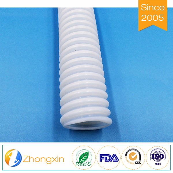 First-rate Corrosion Resistance Flexible PTFE Corrugated tubing helix tube