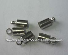 stainless steel clasps, crimp clasp for jewelry findings