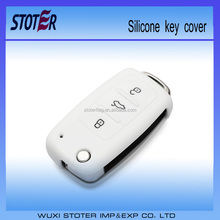Promotion Soft Silicone Personalized Key Cover for car
