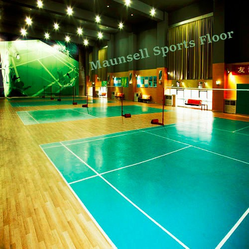 Indoor/Outdoor PVC Interlocking Badminton Sports Flooring