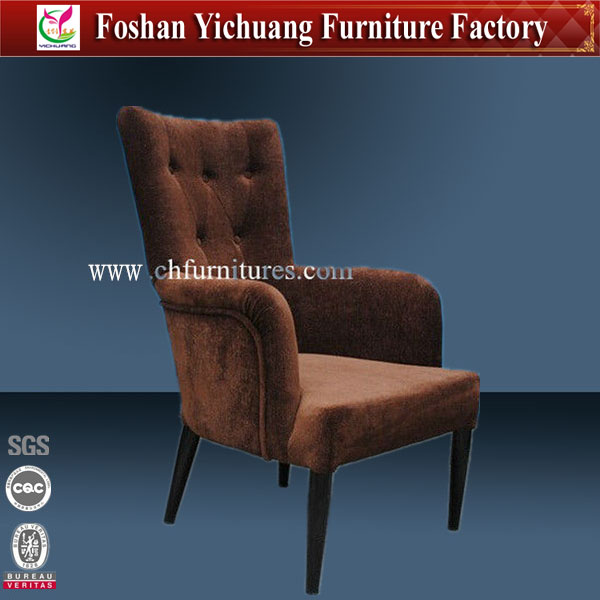 Hotel Comfortable and Modern living room chair with arms YC-F026-1