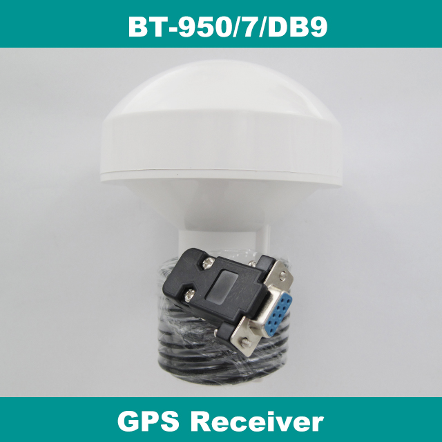12V RS232 DB9 Femal connector UBLOX chipset Mushroom-shaped case Marine Boat Waterproof GPS Receiver with Module Antenna 4800bps