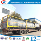 Factory direct selling 20GP 20ft 20' liquid bulk tank container for sale