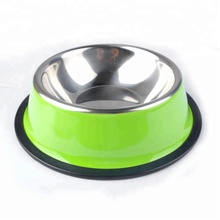 Wholesale Products China Stainless steel Round shape Pet Bowl