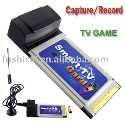 Laptop TV Tuner Card with FM / notebook TV Card-PCMCIA