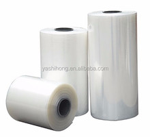 China manufacturer printing Hot sale pvc plastic shrink film for bottle packing