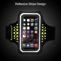 Colorful Sport lycra Armband for iphone 6Plus/7Plus/8/8Plus Mobile Phones